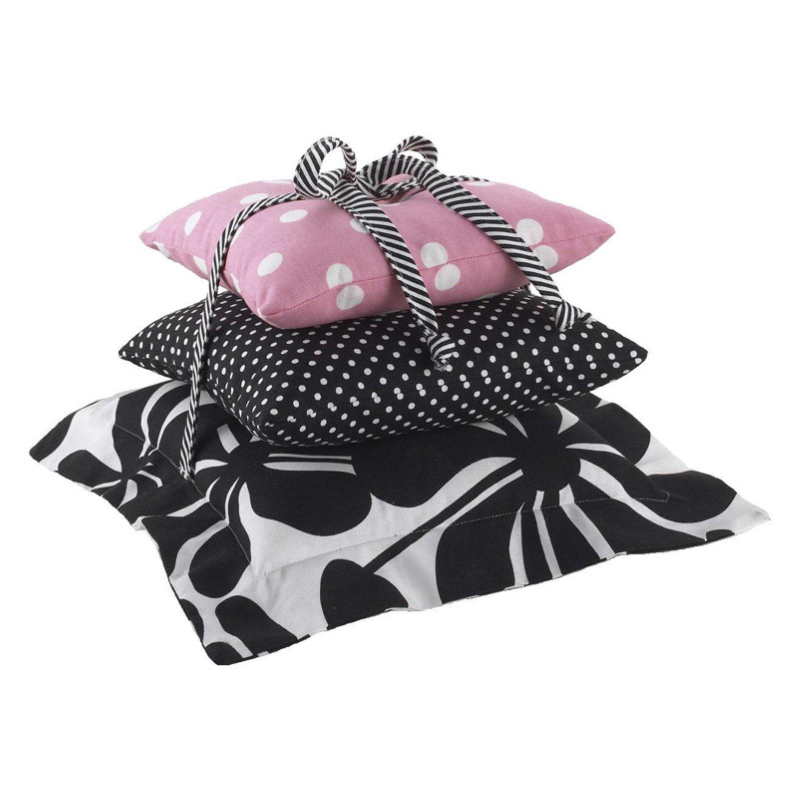 Cotton Tale Designs Girly 3 Piece Decorative Pillow