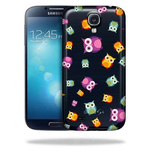 MightySkins Snap-On Protective Hard Case Cover for Samsung Galaxy S4 Owls