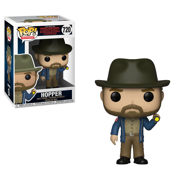 Funko POP! Television: Stranger Things - Hopper w/Flashlight