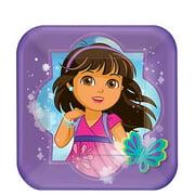 Dora the Explorer 'Dora and Friends' Small Paper Plates (8ct)