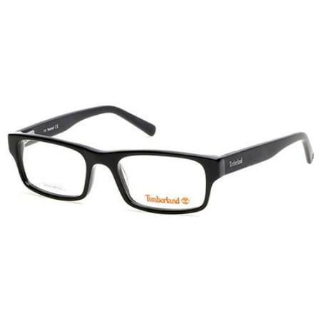 TIMBERLAND Eyeglasses TB5055 001 Shiny Black 48MM (Eyeglasses Timberland Women)