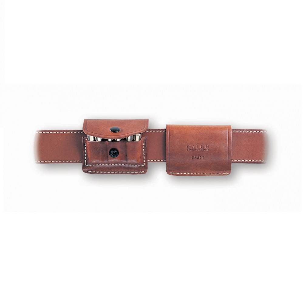 Galco Leather 2X2X2 Leather Ammo Carrier Tan 2X44B by Galco