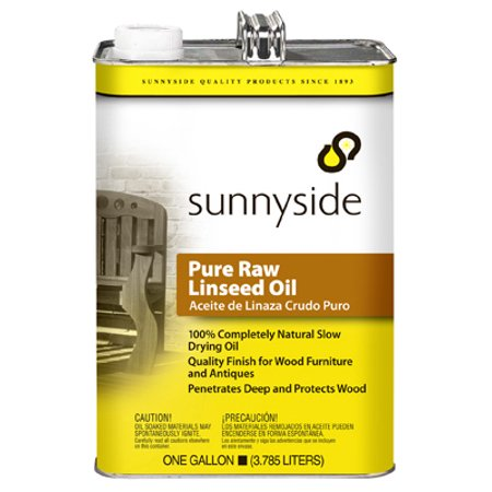 Sunnyside Corporation 2 Packs GAL Raw Linseed Oil