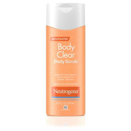 Neutrogena Body Clear Acne Body Scrub with Salicylic Acid, 8.5 fl. oz ()
