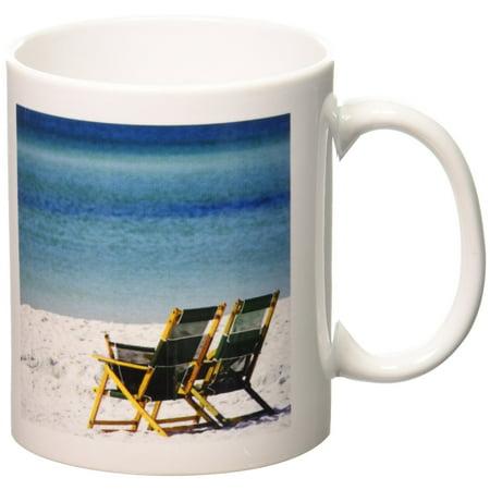 3dRose Adirondack Chairs, Fort Walton Beach, Florida - US10 FVI0018 - Franklin Viola, Ceramic Mug, 11-ounce - Party City Fort Walton