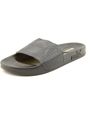 Free shipping. Product Image Puma Top Slide X Vashtie Men Open Toe Leather Black  Slides Sandal a94504851