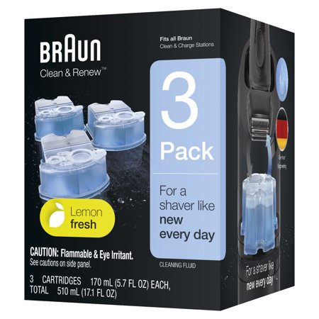 Clean Renew Refills (Braun Clean & Renew Refill Cartridges CCR - 3 pack )