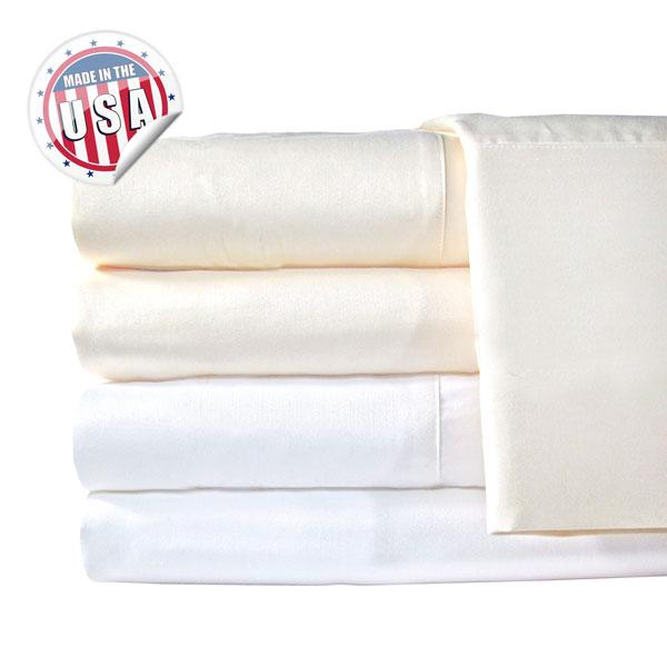 Grand Luxe 1200TC SOLID SHEET SET - IVORY
