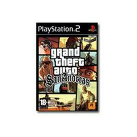 Grand Theft Auto San Andreas - PlayStation 2 (Gta San Andreas All Cheats For Ps2)
