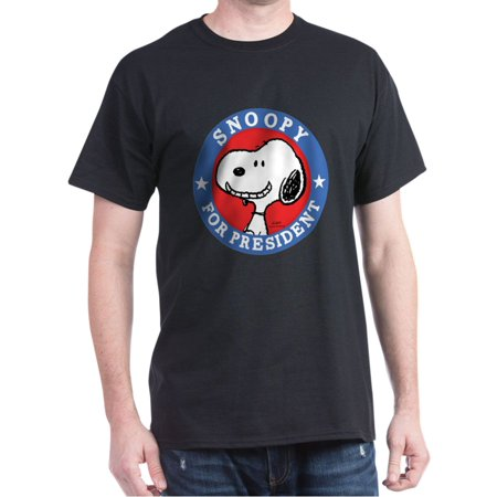 Snoopy For President - Peanuts - 100% Cotton (Peanuts T-shirt Tee)