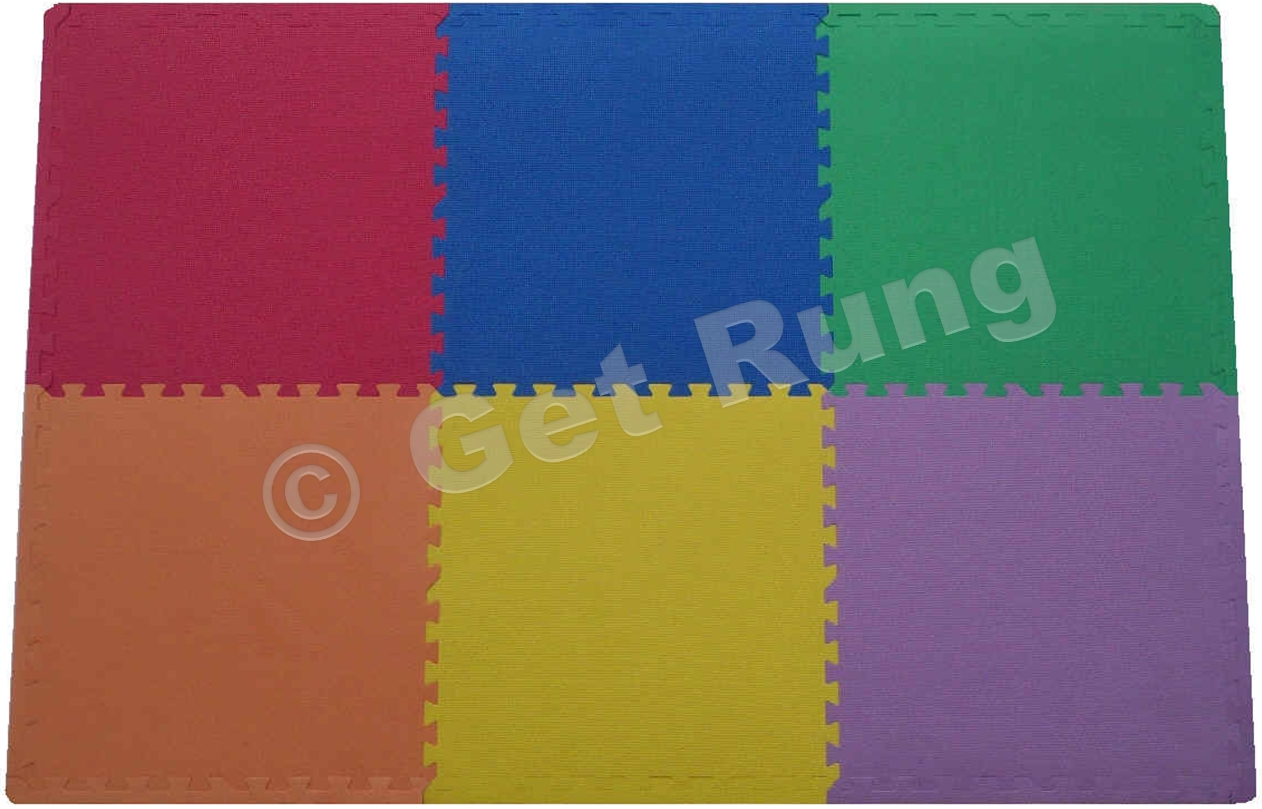 get rung fitness mat with foam tiles for gym flooring excellent for pilates