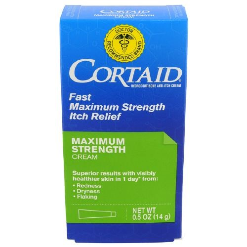 Cortaid Maximum Strength Cream, 1 Oz