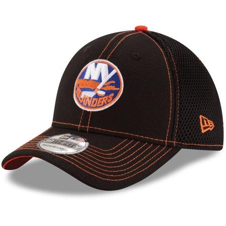 30e4664a4a1 New York Islanders New Era Crux Line Neo 39THIRTY Flex Hat - Black ...