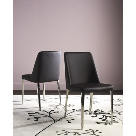 Safavieh Baltic 18''H Glam Upholstered Side Chair, Set of 2 ()