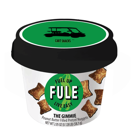 - Cart Snacks by FULE | THE GIMMIE | Peanut Butter Filled Pretzel Nuggets (12 Cups)