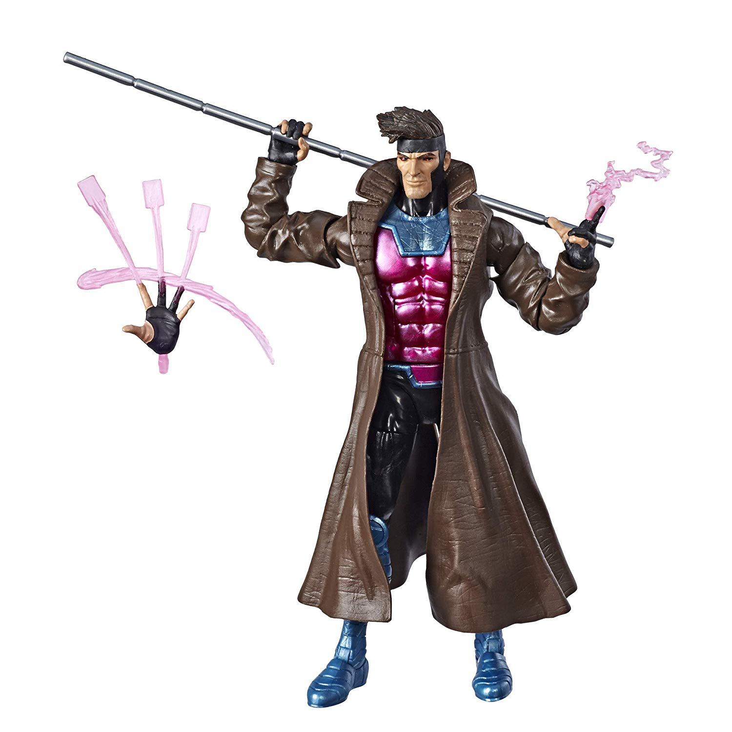 Marvel Legends Series 6-inch Collectible Action Figure Gambit Toy (X-Men Collection) by Hasbro