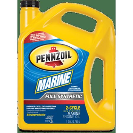 Pennzoil marinereg full synthetic tc w3 2 cycle oil for Pennzoil full synthetic motor oil