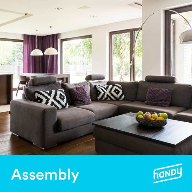 Living Room Furniture Assembly by Handy - Walmart.com - Walmart.com