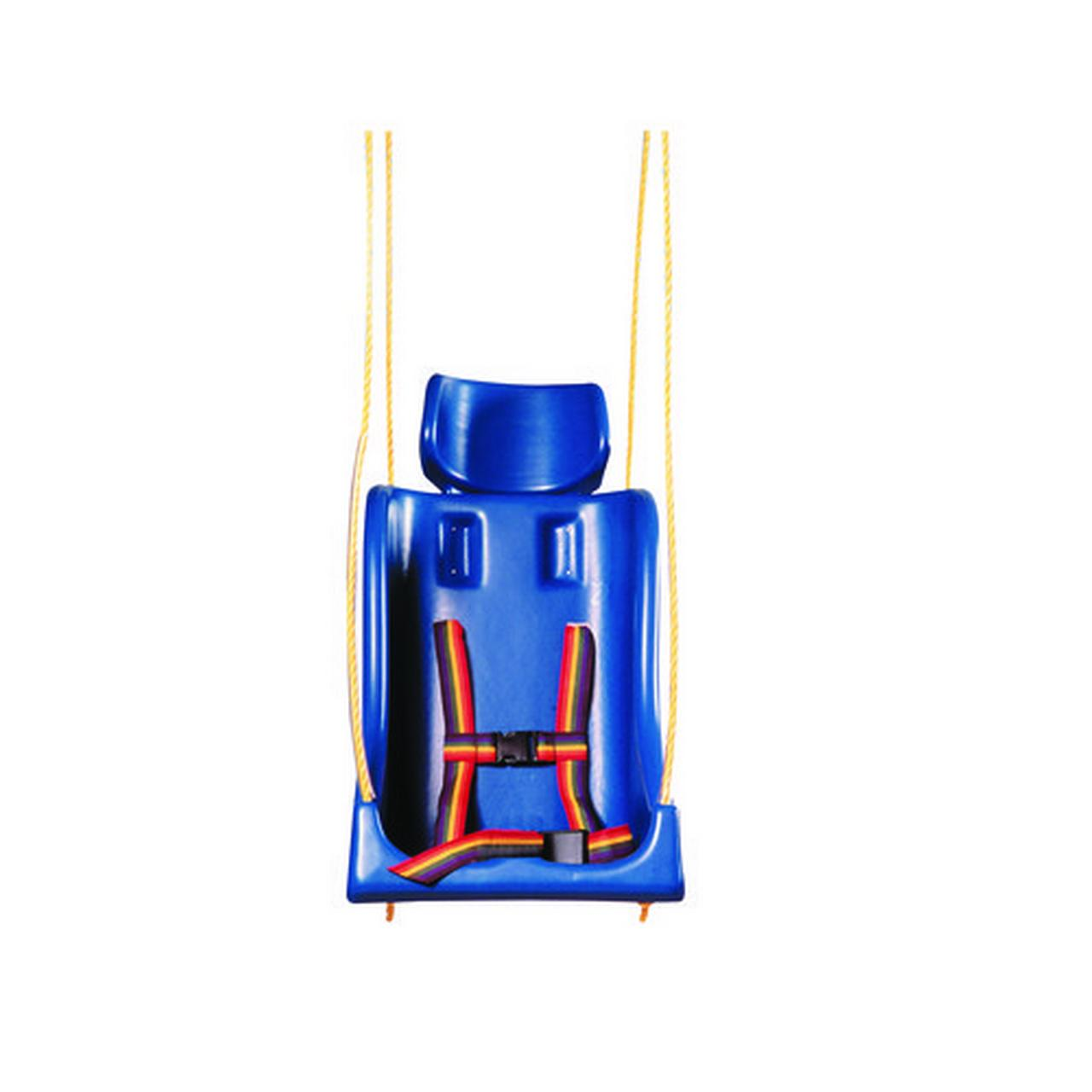 Skillbuilders 30-1636 Full Support Swing Seat Without Pommel Large Adult with Rope