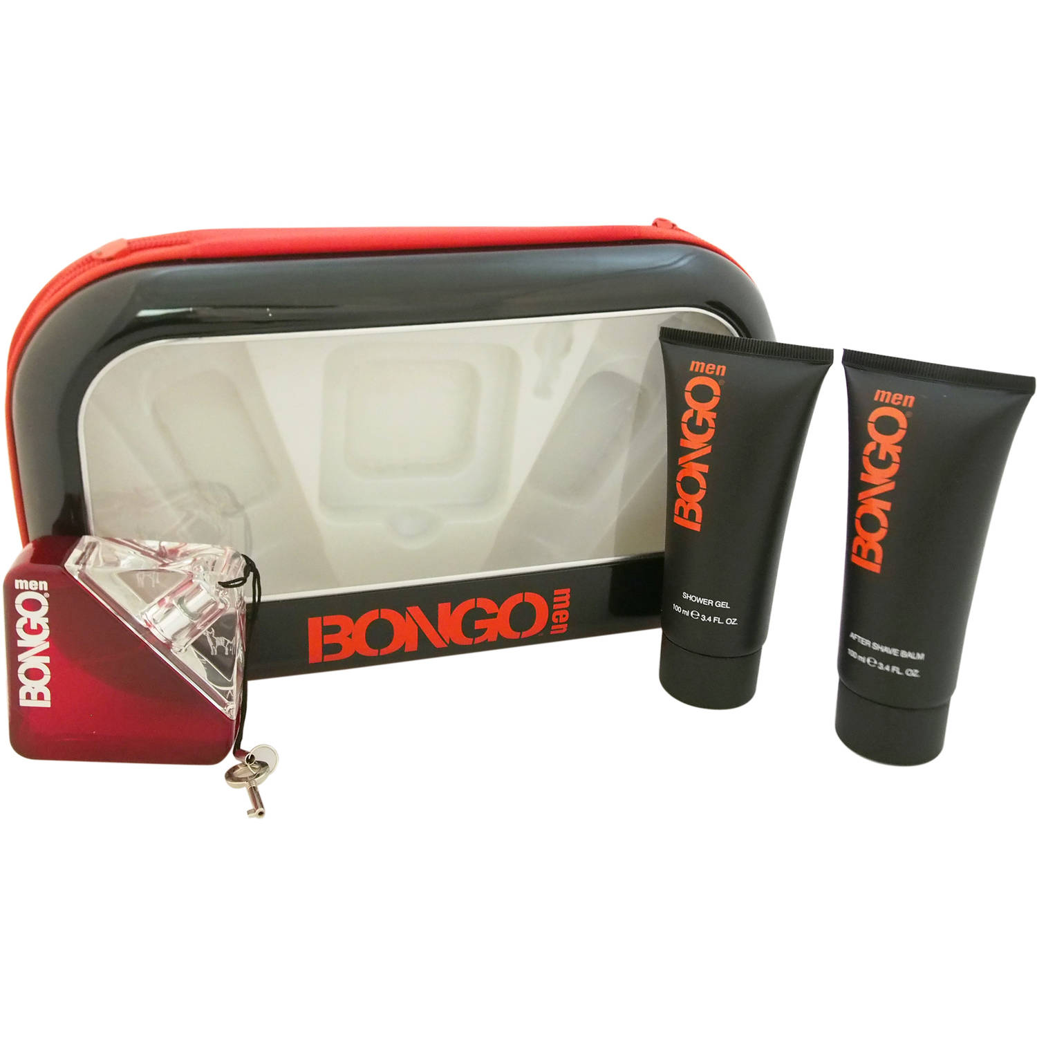 Bongo by First American Brands for Men Gift Set, 3 pc