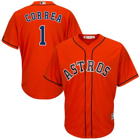 Carlos Correa Houston Astros Majestic Cool Base Player Jersey - Orange