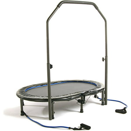 Stamina 55-Inch Trampoline InTone Oval Jogger, with Handlebar,