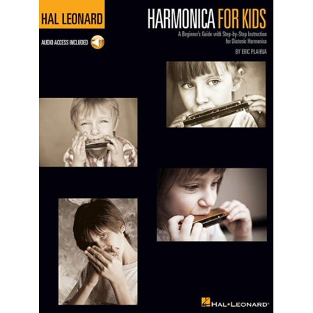 Harmonica Method Book - Harmonica for Kids - A Beginner's Guide with Step-By-Step Instruction for Diatonic Harmonica: Hal Leonard Harmonica Method (Other)