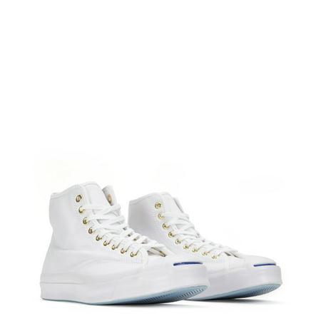 b12dfc485f7bf8 converse - converse jack purcell signature high top sneakers 152668c white  - Walmart.com