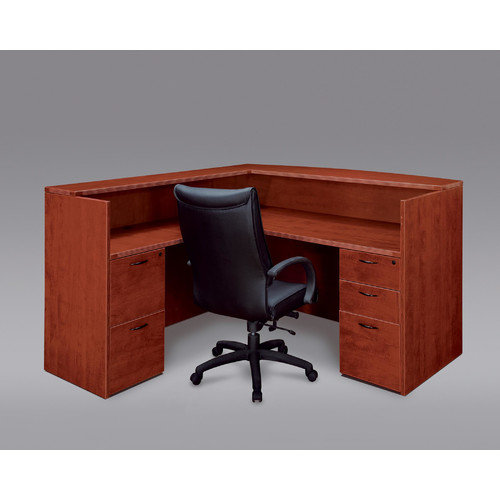Flexsteel Contract Fairplex L-Shape Reception Desk