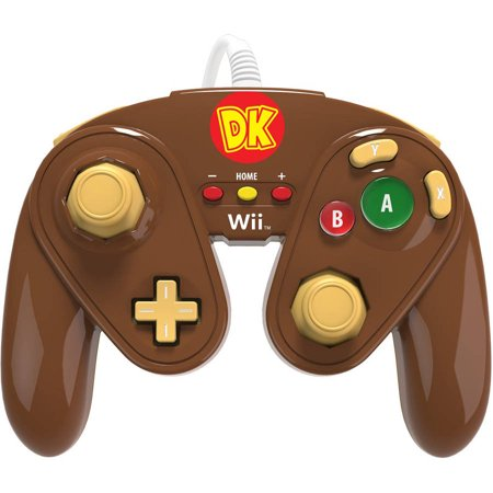 Pdp Wired Fight Pad For Wii U Donkey Kong