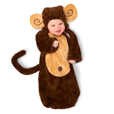 Loveable Monkey Infant Bunting
