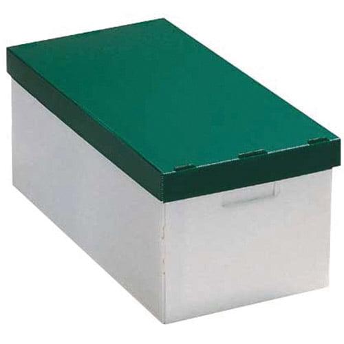 Neu Home Storage Box, Hunter Green, Set of 2