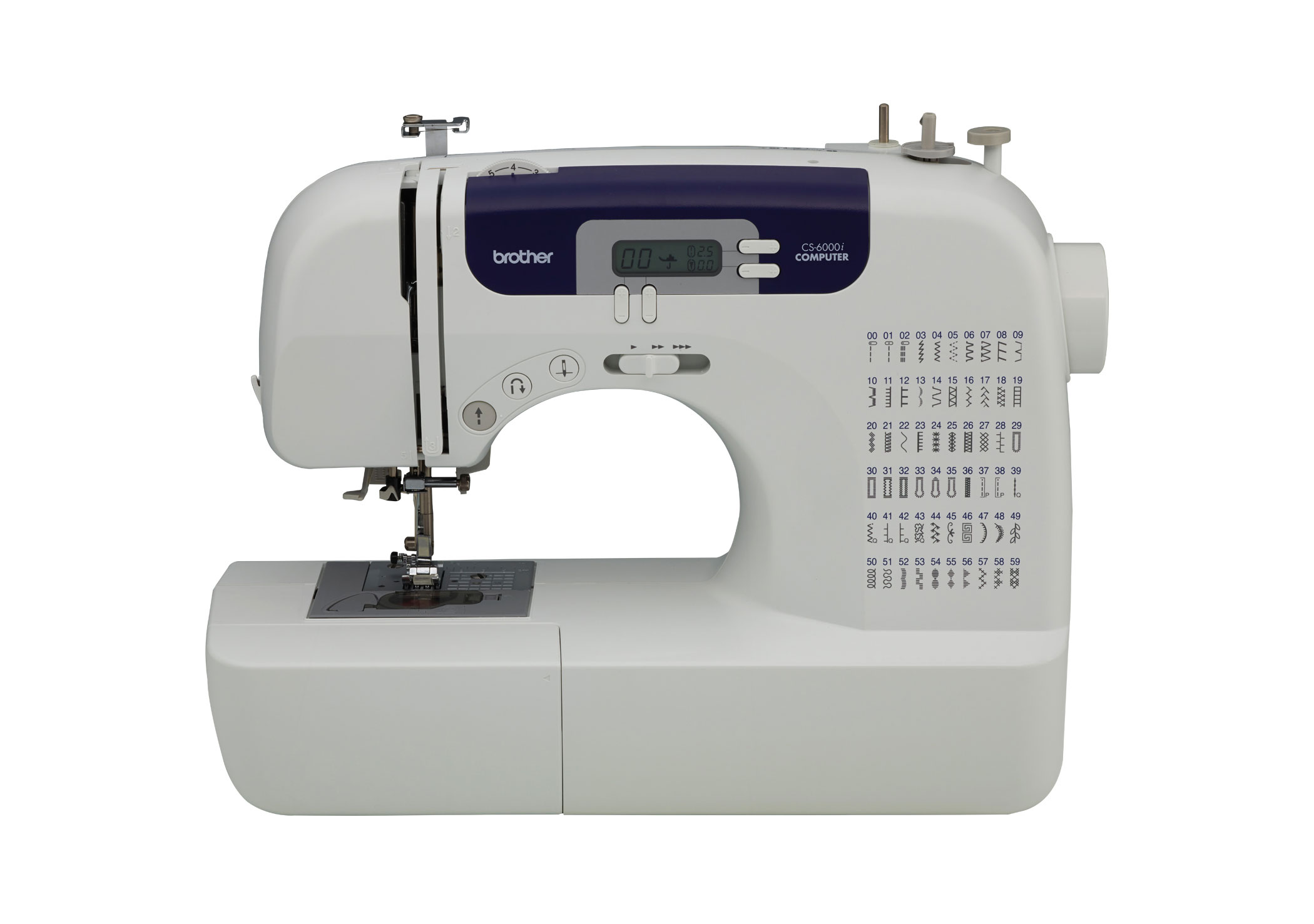 Brother Cs6000i Feature Rich Sewing Machine With 60 Built In