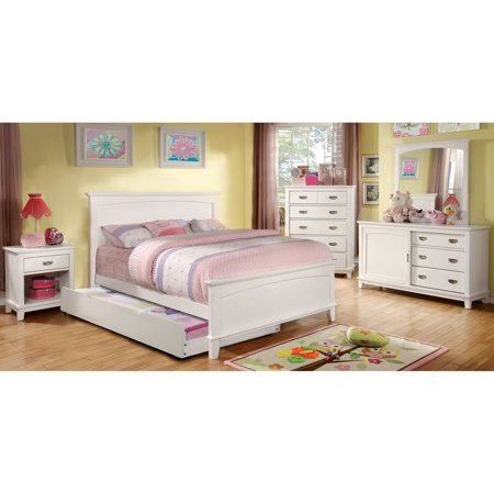 furniture of america alana inspired 4 piece bedroom