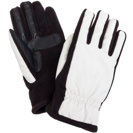 Women's Nylon SmarTouch Winter Texting Gloves - White Magician Gloves