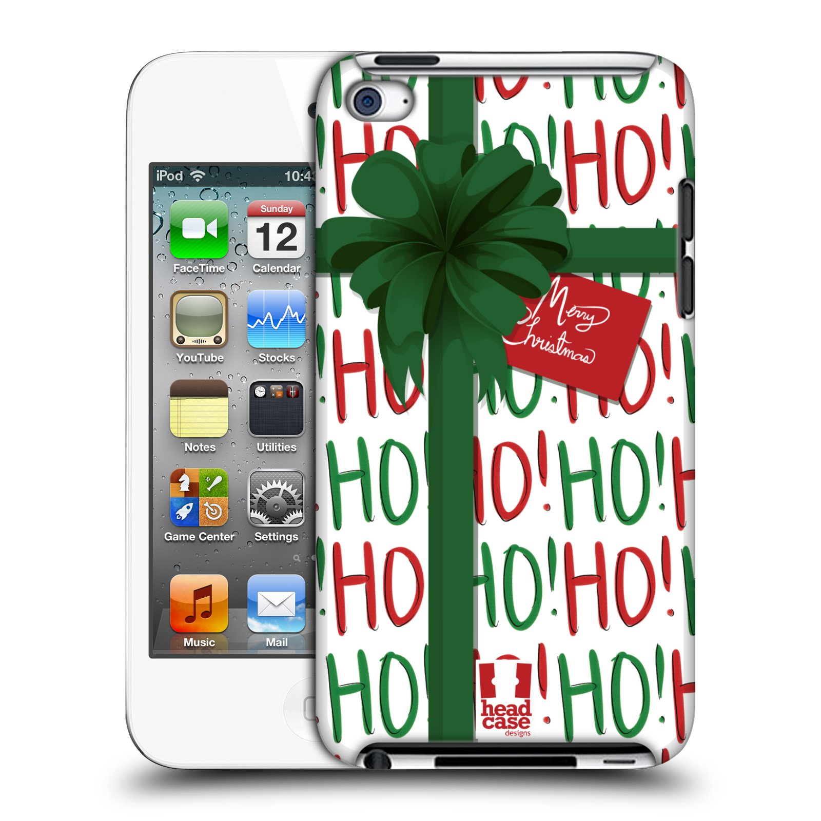 HEAD CASE DESIGNS CHRISTMAS GIFTS HARD BACK CASE FOR APPLE IPOD TOUCH MP3