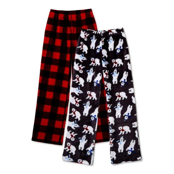 Wonder Nation - Wonder Nation Boys Pajama Pants, 2-Pack, Sizes 4-18 & Husky  - Walmart.com - Walmart.com