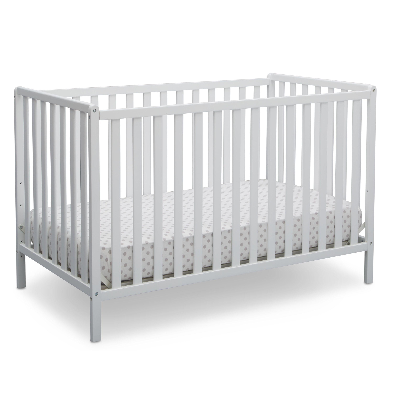 Delta Children Heartland 4 In 1 Convertible Crib Bianca White Brickseek
