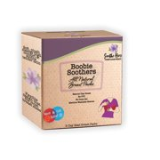 Soothe Hers Boobie Soothers Dual Hot & Cold Therapy Relief Packs  |  Breastfeeding Pain Relief | Non Toxic Clay Beads | 2 Ct