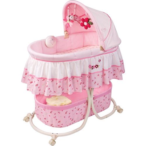 Summer Infant - Ladybug Soothing Bassinet, Pink