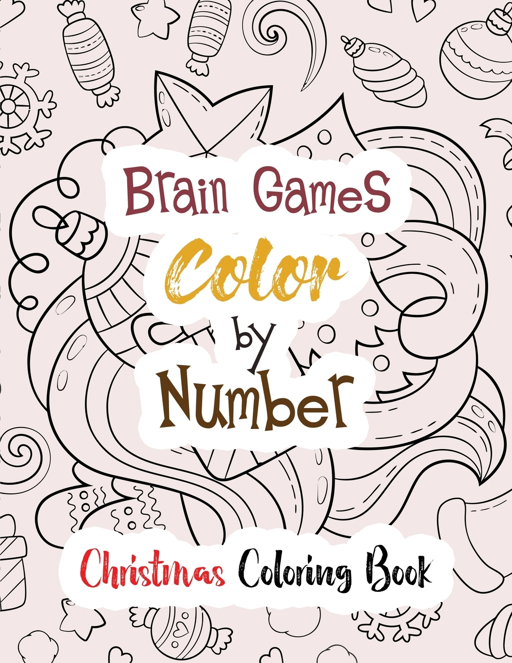 - Brain Games Color By Number : Christmas Coloring Book, Color By Number Books,  A Christian Coloring Book Gift Card Alternative, Guided Coloring Book For  Beginners (Paperback) - Walmart.com - Walmart.com