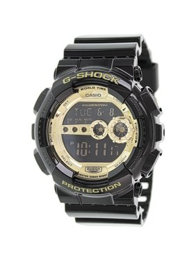 4e7f7a864 Product Image Men's G-Shock GD100GB-1 Gold Resin Quartz Sport Watch