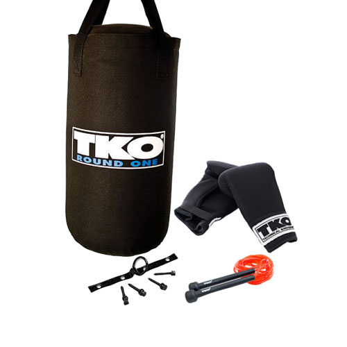 TKO 25 lb. Kid's Heavy Bag Boxing Set