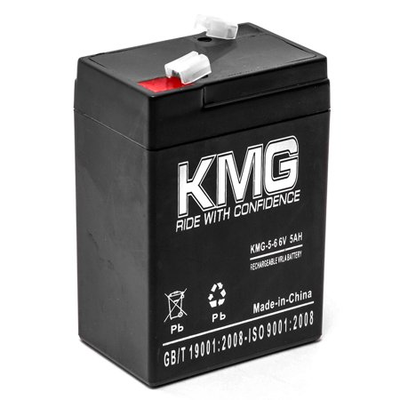 KMG 6V 5Ah Replacement Battery for Emergi-lite M1 M1000 M126 M1860004