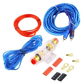 800W 8GA Car Audio Subwoofer Amplifier Install Wiring AMP ... Wiring For Cable on