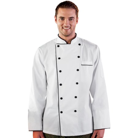 Five Star Chef Apparel Unisex Executive Chef (Executive Chef Uniform)