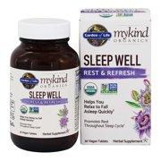 Garden of Life - mykind Organics Sleep Well Rest & Refresh Formula - 30 Vegan Tablet(s)