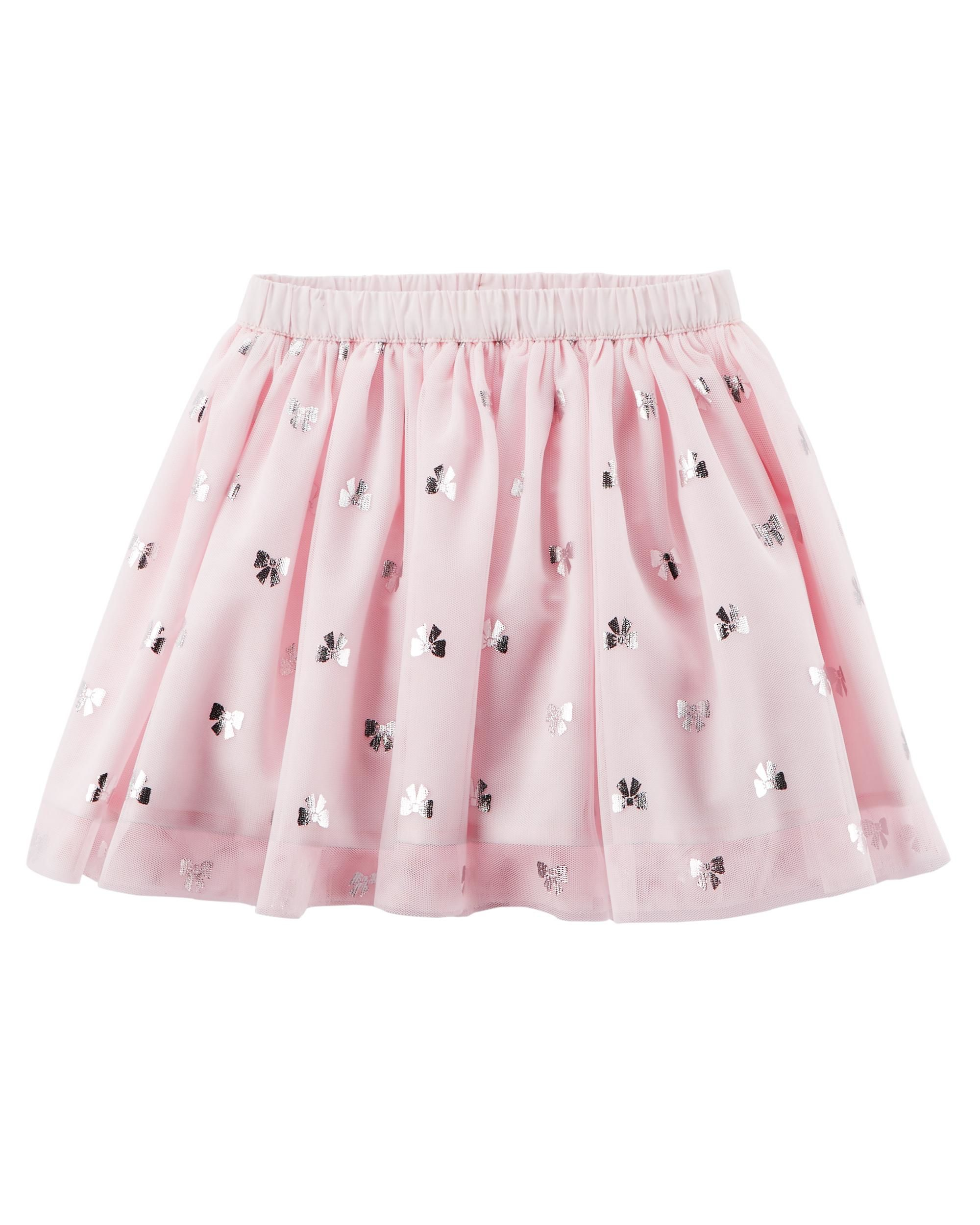 Carter's Baby Girls' Tutu Tulle Bow Pink Skirt - 18 Months