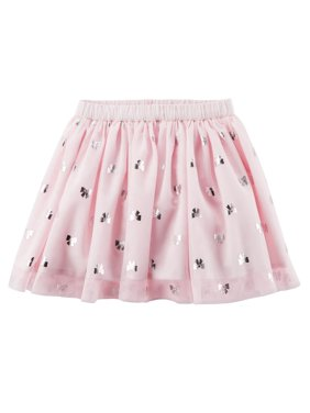 009164f688250c Product Image Carter's Baby Girls' Tutu Tulle Bow Pink Skirt - 12 Months