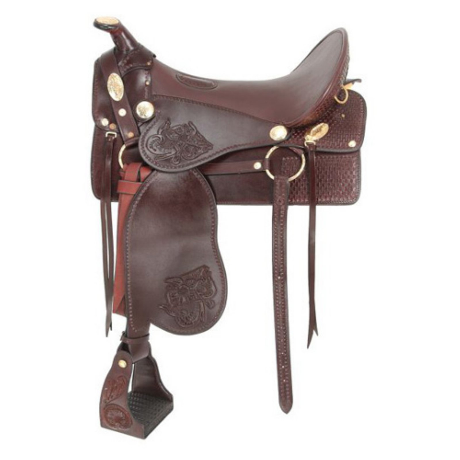 Jackstack King Series Tooled McClellan Camp Saddle - RK4-...